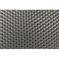 China Satin Black Limited Vision Mesh , Single Through Aluminium Security Mesh Sheets on sale