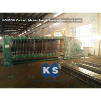 Smooth Running Hexagonal Wire Netting Machine , Automatic Gabion Net Machine Manufactures