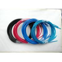 Colorful Wire Rope Assembly , Wire Rope And Fittings Black /  Red / Blue Vinyl / PVC / PU / PA Manufactures