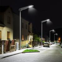All in one solar garden light PIR motion sensor with remote control  street solar lights Manufactures