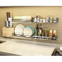 Open Architecture Stainless Steel Kitchen Rack Extra Durability For Easy Access Manufactures