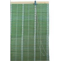 Green Bamboo  Window Blinds Woven Wood Blinds Curtains / Roll Up Window Shades Manufactures