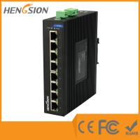 8 Port Auto Adaptive Unmanaged Full Gigabit Switch , Industrial Ethernet Switch Manufactures