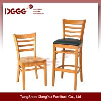 DG W0005 05B Cheap Wood Bar High chair for sale used of