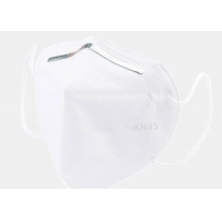Non Woven Protective Face KN95 Respirator Earloop Mask With Valve Manufactures