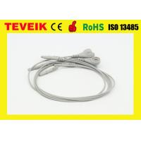 China Reusable Holter Recorder one piece ECG Cables and Leadwires, DIN1.5 type on sale