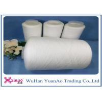 China Virgin Polyester Spun Raw White Yarn for Clothes Sewing High Tenacity and Eco-friendly on sale