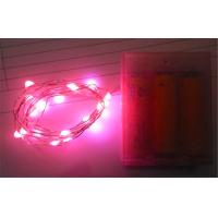 Outdoor LED String Lights Warm White / Pink For Patio, Pathway / Low Voltage String Lights Manufactures