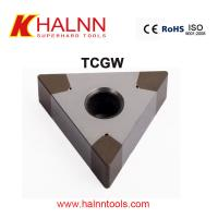 Halnn BN-H11 PCBN Tipped Cutters turning Metallurgical bearings with HRC62 Manufactures