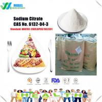 Quality Quality Food additives sodium citrate / Trisodium Citrate  CAS 6132-04-3 Free Sample for sale