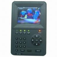 3.5-inch Digital Satellite Finder with LCD Monitors, Built-in Battery, Short-circuit Alarm Manufactures