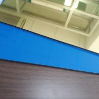 Buy cheap Gold Colour High Reflective Mirror Finish Aluminum Sheet , Mirror Polished from wholesalers