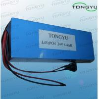 Light LiFePO4 Rechargeable Battery 24V 6.4Ah With CE / UL Rosh For Electric Scooters Manufactures