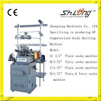 Quality Shenglong automatic hosiery machine(96N plain) for sale