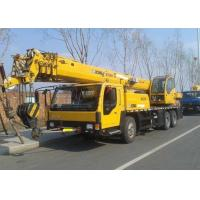 China Hoisting Machinery Pilot Control Hydraulic Truck Crane , Hydraulic Arm Crane on sale