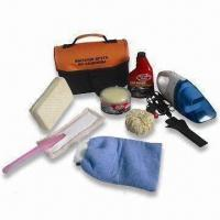 Car Cleaning Kit with 12V Vacuum and 180g Gloss Paste Solid Wax Manufactures