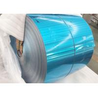 China Refrigerator Blue Color Coated Aluminum Coil Roll Standard Export Packaging on sale