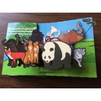 China English Cartoon Children'S 3D Books / 3d Picture Book Customized Size on sale