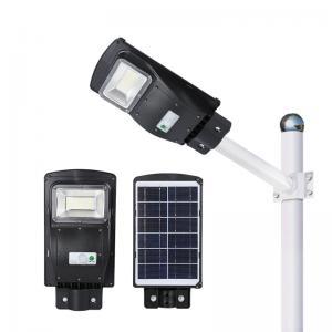 China 50000H Solar Powered Parking Lot Lights , 20-60w Solar Energy Street Lights on sale