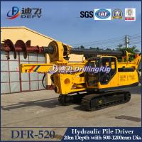 Manufacturer of Hydraulic Piling Driver Machines DFR-520 for Sale Manufactures