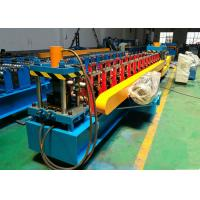 Efficient Roller Shutter Door Roll Forming Machine For Hydraulic Punching Steel L Profile Manufactures