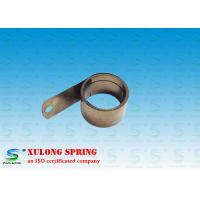 Power Shelf Pusher Helical Torsion Springs , Flat Spiral Spring 13MM Material Width