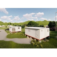 China Cheap Prefab Portable Emergency Shelter Modular Quick Assemble Foldable House, Mobile house on sale