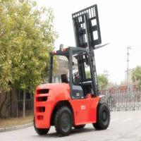 China 1600x180x80mm 5 Ton Forklift Mitsubishi S4S Engine 3000mm Lifting Height on sale