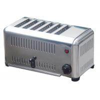 Space Stainless Steel Electric Bread Toaster Conveyor Type For Restaurant Manufactures