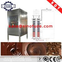 China continuous chocolate tempering machine on sale
