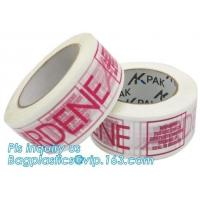 Heavy duty packaging tape clear packing tape extra thick low noise bopp adhesive tape,Designed clear packing tape with c