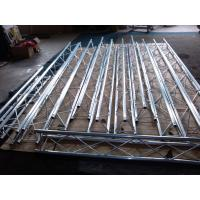 Light Duty Aluminum Stage Truss Black Non - Rust / Durable For Exhibition Manufactures