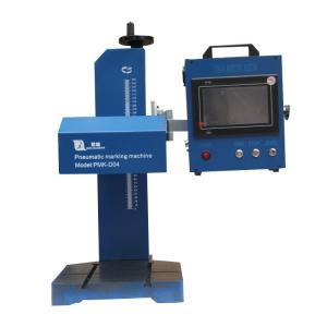 OEM Desktop 2d data matrix dot pin marking machine for nameplate Manufactures