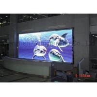 China P10 SMD wireless Rental Outdoor Full Color LED Display for Advertising 1 / 4 scan on sale