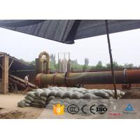 Industrial Kaolin Rotary Drum Dryer For Coal Sliming , Henan Hongji Mine Machinery Manufactures