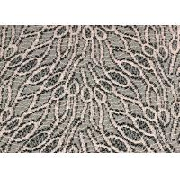 Customized Jacquard Cotton Nylon Lace Fabric Shrink-Resistant SGS CE CY-LW0105 Manufactures