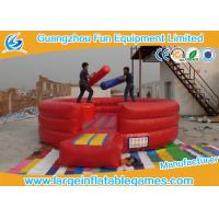 Customized Size Inflatable Battle Arena Fighting Playground CE SGS EN14960 ROSH Manufactures