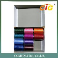 China 100% Spun Polyester Sewing Thread 40s/2  in 400 yds - 1000yds Per Tube for Amazon wholesale