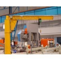Free Standing 3ton Dual Speed Electric Jib Crane With Chain Hoist Manufactures