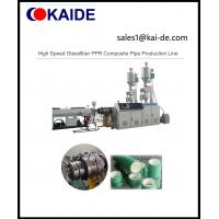 High Speed Glassfiber PPR Composite Pipe Production Line Manufactures