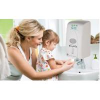 Buy cheap Wall Mounted ABS Touchless Hand Sanitizer Dispenser Automatic Durable from wholesalers