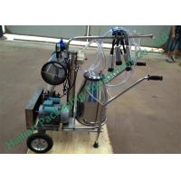 Single Cow Mobile Milking Machine , Electric Bucket Milking Machine Manufactures