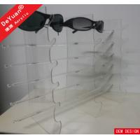 Sunglass Display Stand Acrylic Holder Stand Durable For Eyeglass Rack Manufactures