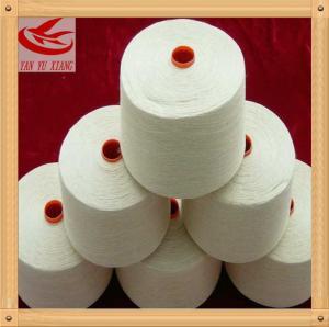 50/1 raw white polyester spun closed virgin yarn instock Manufactures