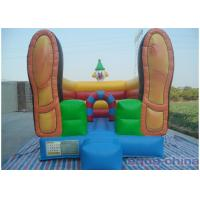 Clown Inflatable Bouncer , Loving Bouncer Shoes With Mini Size Manufactures