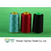Excellent Evenness Polyester Core Spun Thread Dyed Ring Spun For Sewing Manufactures