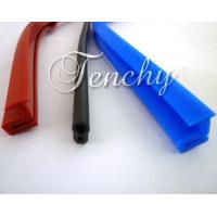Solid Silicone Rubber Seal Extrusion Profiles For Heat Resistant Weather Stripping Manufactures