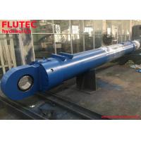Long Stroke 4050mm Mill Type Custom Hydraulic Cylinders For Steel Mill Manufactures