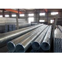 Large Diameter API 5L Spiral Welded Steel Pipe With Electro Galvanized Surface Manufactures