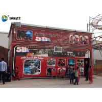 5D Cinema 5D Movie Theater Including The Outside Cabin Electronic Dynamic System Manufactures